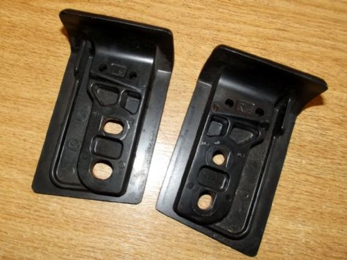 Soft top front fitting brackets / striker plates, pair, Mazda MX-5 mk3, USED